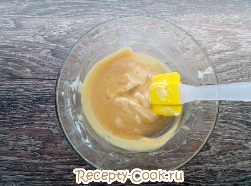 мусс йогурт сливки