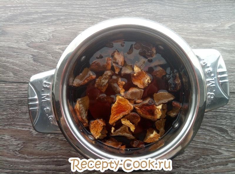 крем суп из лесных