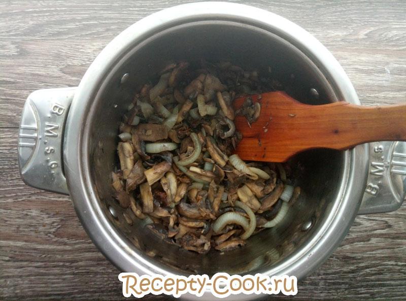 рецепт крем супа из лесных грибов
