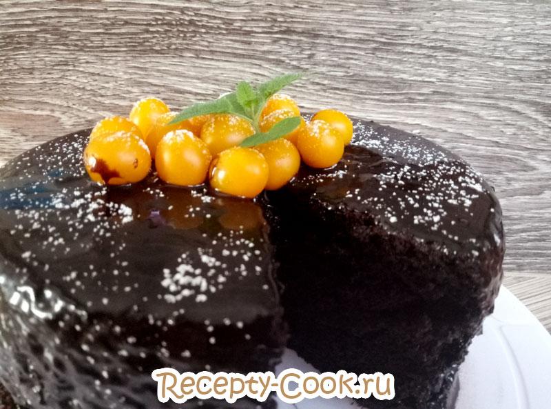 шоколадный торт на 1 2 3