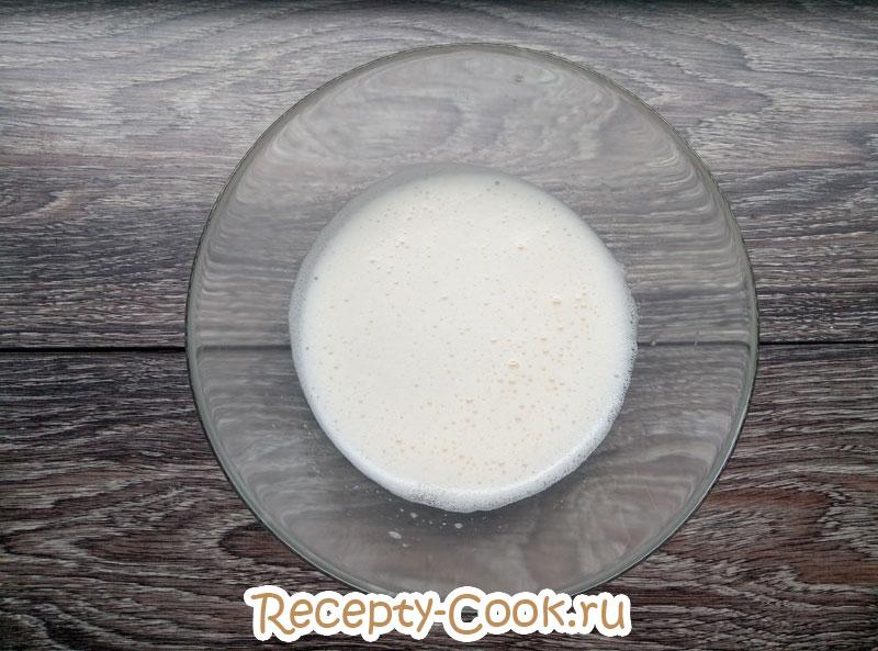 рецепт блинов на воде