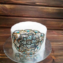 Торт Наполеон с белым шоколадом