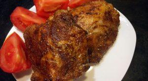 Пряные куриные бедрышки в духовке
