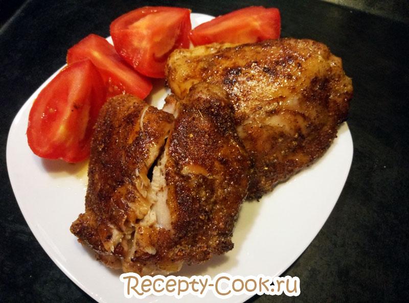рецепт куриных бедрышек в духовке