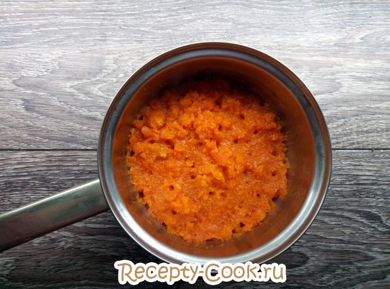 вкусная каша из тыквы с рисом