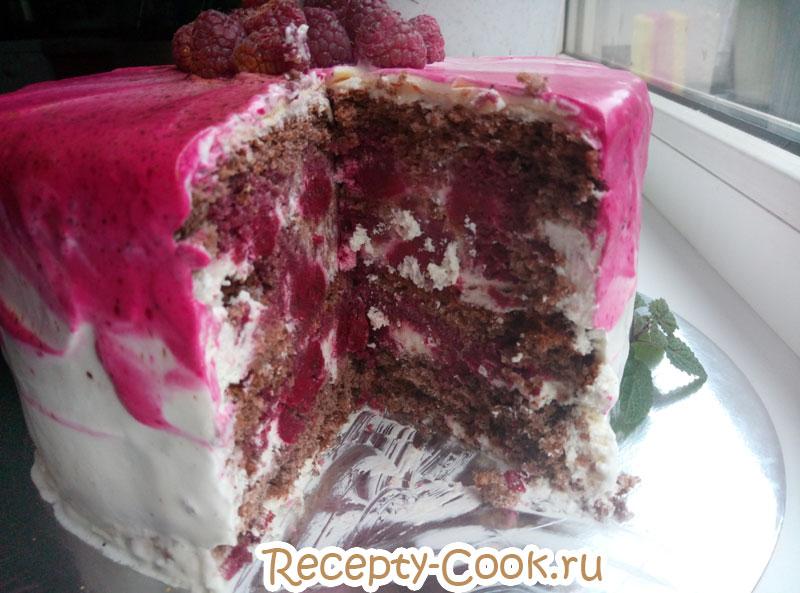 торт шварцвальд шоколадный