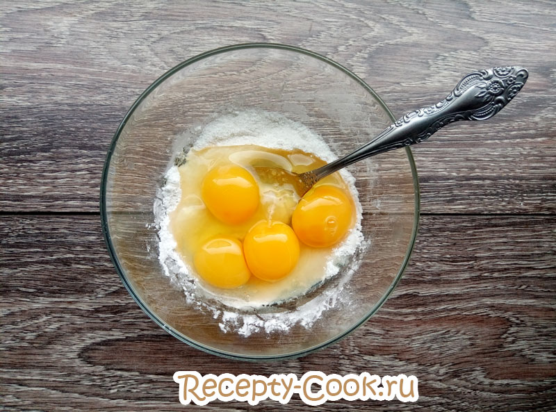заварной крем с апельсином