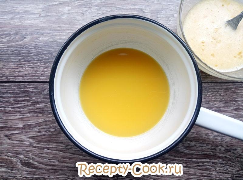 крем с апельсином для торта