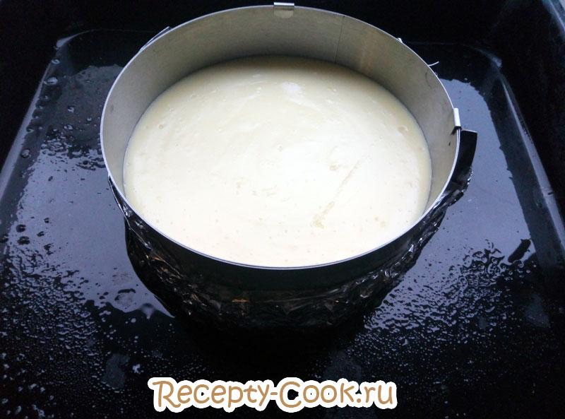 чизкейк нью классический рецепт