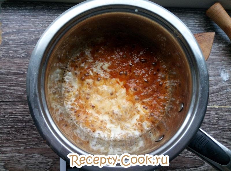 карамельный соус в домашних условиях