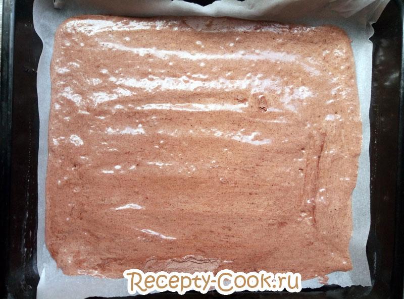 шоколадный бисквит джоконда