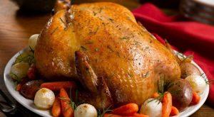 Рецепт курицы с начинкой, запеченной в духовке