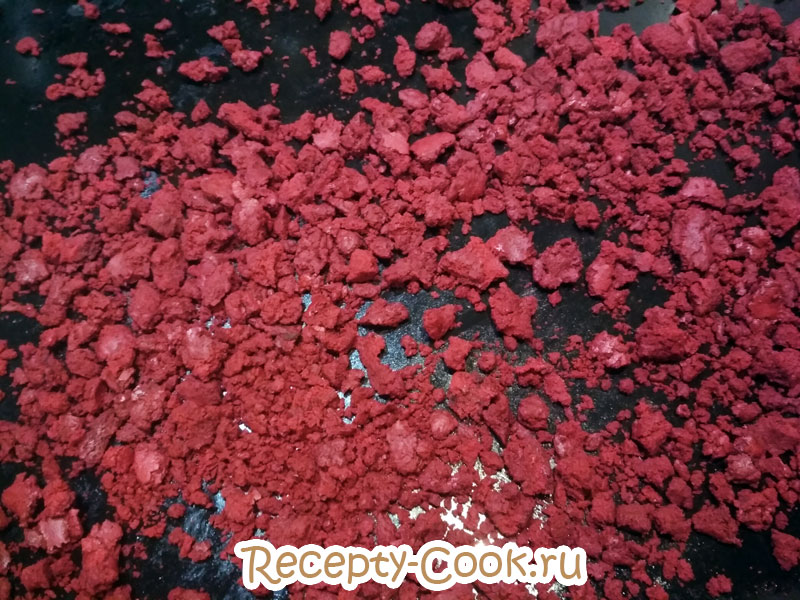 красный бархат рецепт пошагово