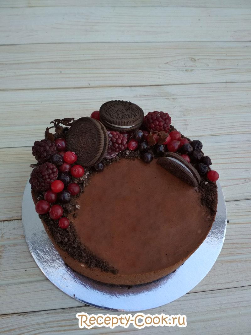 крем мусс для торта
